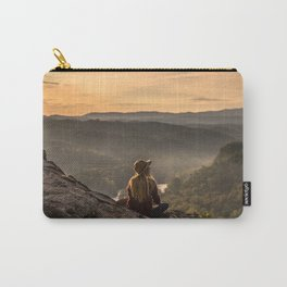 Morning on Starr Mtn Carry-All Pouch