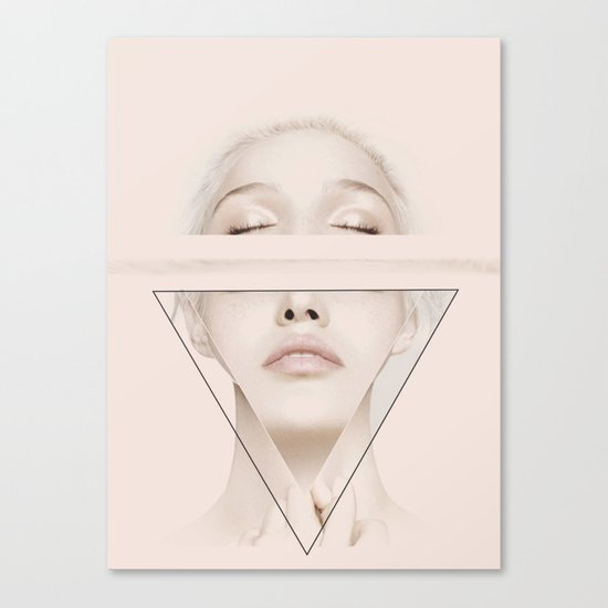 Triange Canvas Print