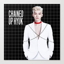 Chained Up Hyuk Canvas Print
