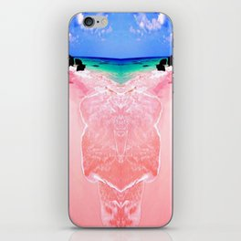 Elafonissi Chania Pink and Turquoise Sea iPhone Skin