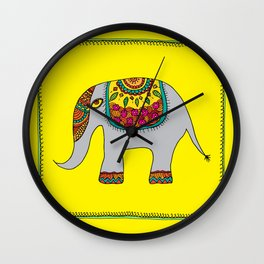 Gaja - The Majestic Elephant Wall Clock