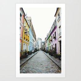 Rue Crémieux Art Print