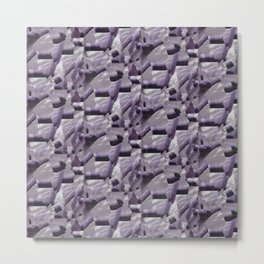 Crackle Whimsy Metal Print