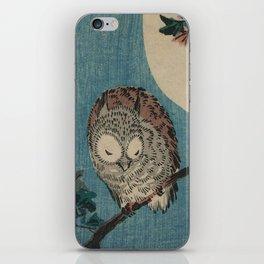 Vintage Japanese Owl iPhone Skin