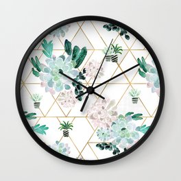Succulove Wall Clock