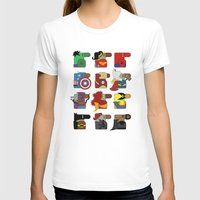 super heroes T-shirts featuring Super Heroes by nobleplatypus