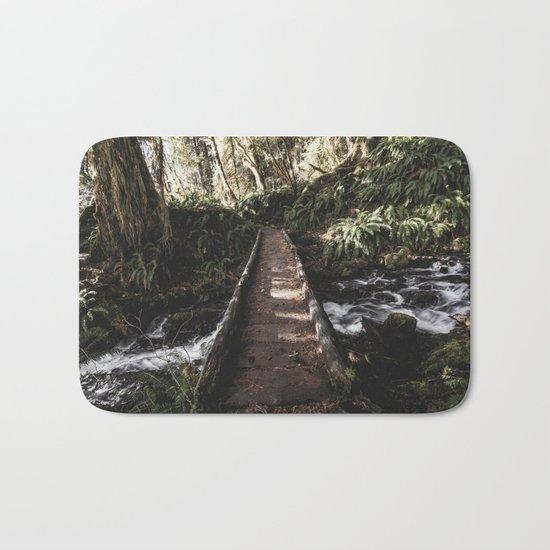 Hoh Rainforest River Trail Bath Mat