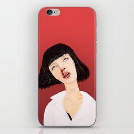 Mrs Mia Wallace iPhone Skin