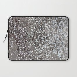 Sparkling SILVER Lady Glitter #1 #decor #art #society6 Laptop Sleeve