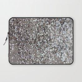 Sparkling SILVER Lady Glitter #1 #decor #art #society6 Laptop Sleeve