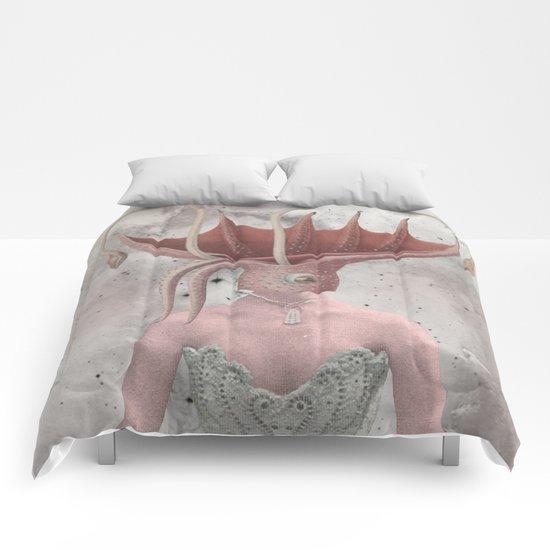 PINK I THINK Comforters