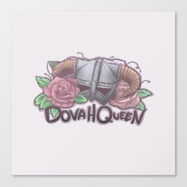 DovaQueen Canvas Print