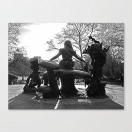 'Alice in Central Park' Canvas Print