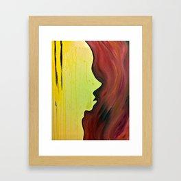 a warm place Framed Art Print