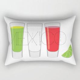 Mexico Tequila Shots Rectangular Pillow