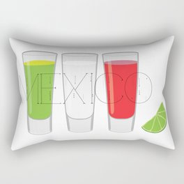 Mexico Tequila Shots Rectangular Pillow
