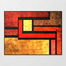 Red Yellow Orange Canvas Print