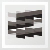 Aronde Pattern #02 Art Print
