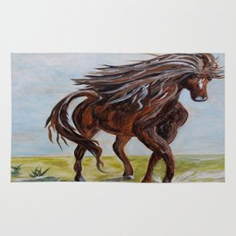 Splashing the Light - Young Horse Rug