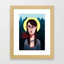 Abigail Hobbs Framed Art Print