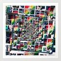 Computer Disks Pop Art by perkinsdesigns
