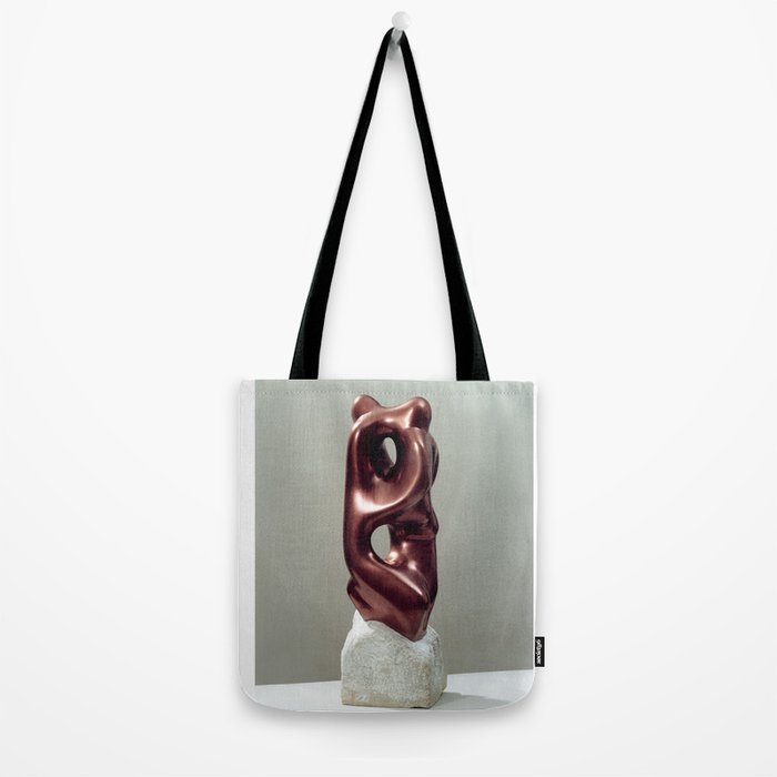 Siamese Twins by Shimon Drory Tote Bag