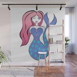 Zombie Mermaid Wall Mural