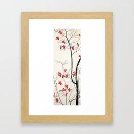 Magnolia Tree by Kobayashi Kokei,1919 Framed Art Print