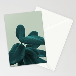 Ficus Elastica #8 #GreenLily #decor #art #society6 Stationery Cards