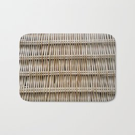 Wicker Weave Bath Mat