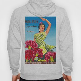 Andalusia - Vintage Travel Poster Hoody