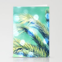 palm Stationery Cards featuring palm by laika in cosmos