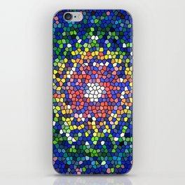 Mandala vitral iPhone Skin