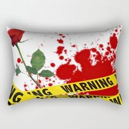 Crime Scene Rectangular Pillow