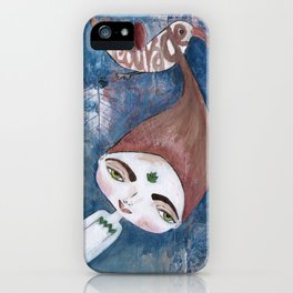 Courage-Bhoomie iPhone Case