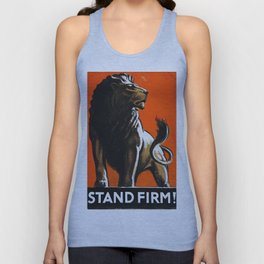 Stand Firm! Unisex Tank Top