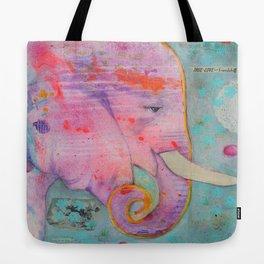 Elephant - True Love and Friendship Tote Bag