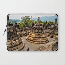 Bells at Borobudur Temple Laptop Sleeve