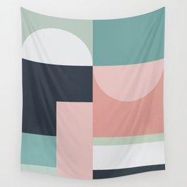 Abstract Geometric 06 Wall Tapestry
