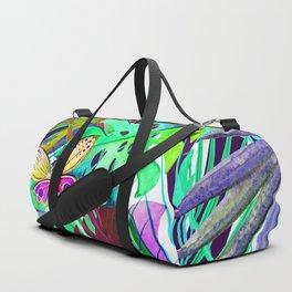 Queen floral b Duffle Bag