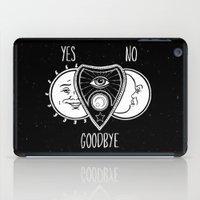 ouija iPad Cases featuring Ouija Board by Jamie Leonard