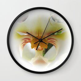 Orchid Centre (Orchidaceae) Wall Clock