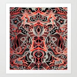 Courage of the Tigress Art Print