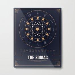 The Zodiac Metal Print