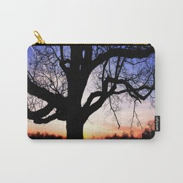 Darkness Against Sunset Carry-All Pouch