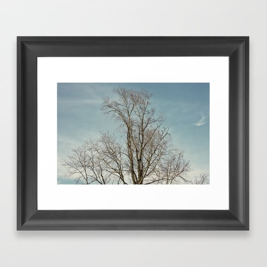 withwinter Framed Art Print
