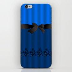 Blue Chiffon Dress iPhone & iPod Skin