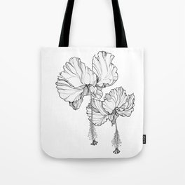 Hibiscus in Bloom Tote Bag