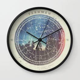 Fernweh Vol 3 Wall Clock