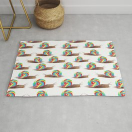 Candied Snails Rug